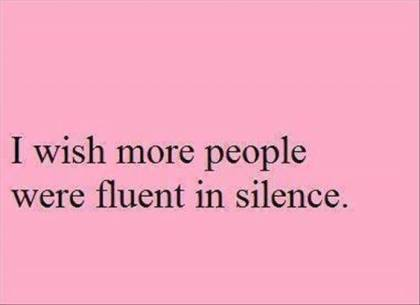 fluent-in-silence