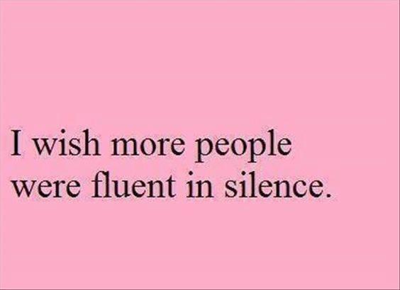 fluent-in-silence