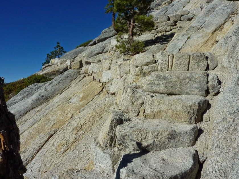 switchback stares half dome